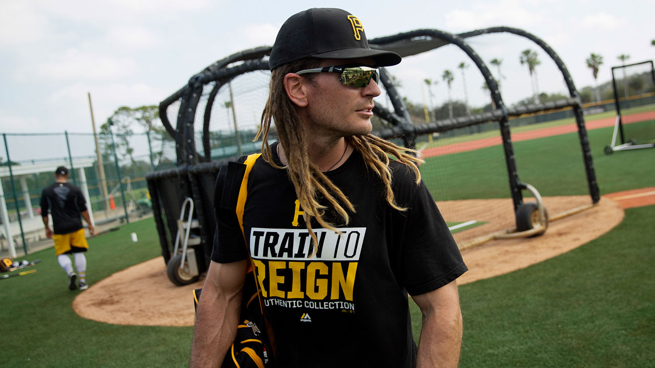 Jaso glad to fill multiple roles for Bucs in '17
